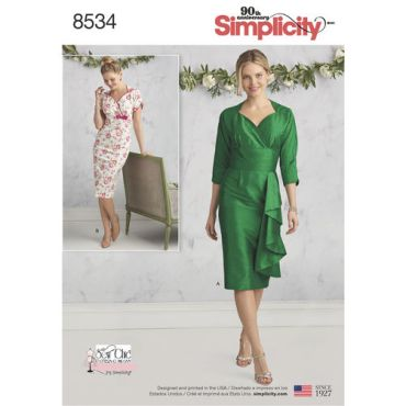 simplicity-sew-chic-dress-pattern-8534-envelope-front