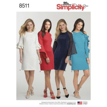 simplicity-shift-dress-pattern-8511-envelope-front