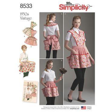 simplicity-vintage-apron-pattern-8533-envelope-front