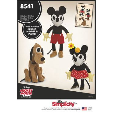 simplicity-vintage-mickey-minnie-pluto-disney-pattern-8541-envelope-front