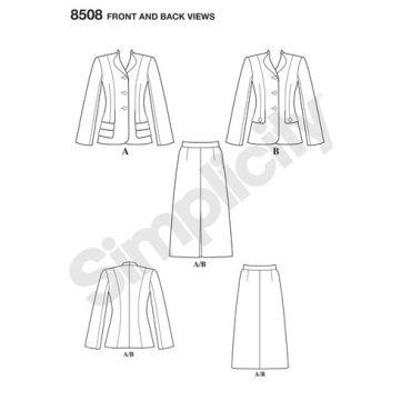 simplicity-vintage-suit-pattern-8508-front-back-view