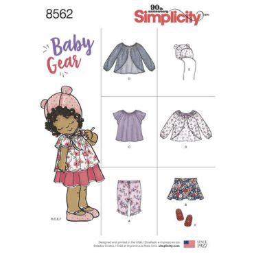 simplicity-baby-separates-pattern-8562-envelope-front