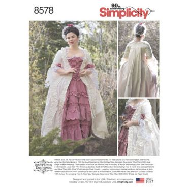 simplicity-baroque-gown-pattern-8578-envelope-front