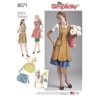 simplicity-craft-1940s-vintage-apron-pattern-8571-envelope-front