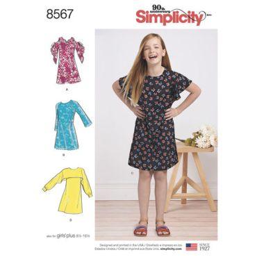 simplicity-girl-sheath-dress-pattern-8567-envelope-front