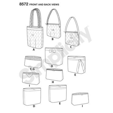 simplicity-handbags-pattern-8572-front-back-view