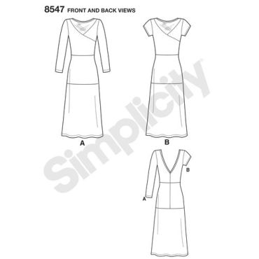 simplicity-mimi-g-dress-pattern-8547-front-back-view