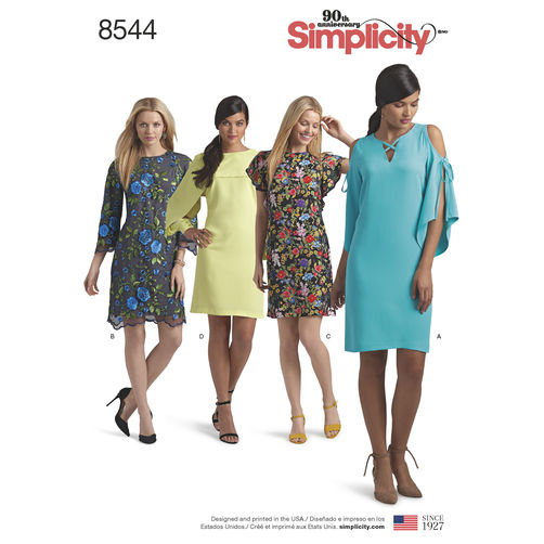 Simplicity Patterns Early Spring 2018 – Doctor T Designs