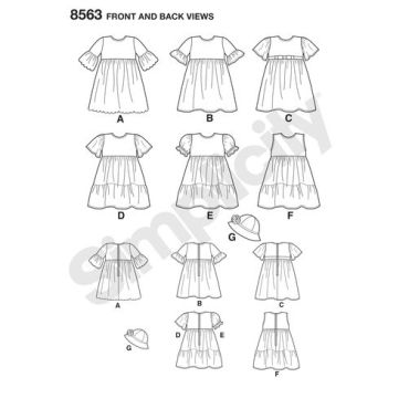 simplicity-toddler-dress-pattern-8563-front-back-view
