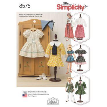 simplicity-vintage-doll-clothes-pattern-8575-envelope-front