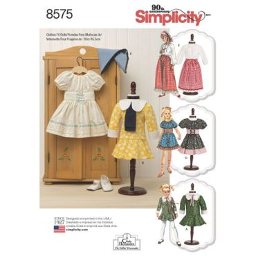 simplicity-vintage-doll-clothes-pattern-8575-envelope-front