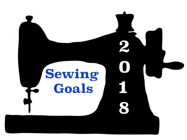 Sewing Goals 2018