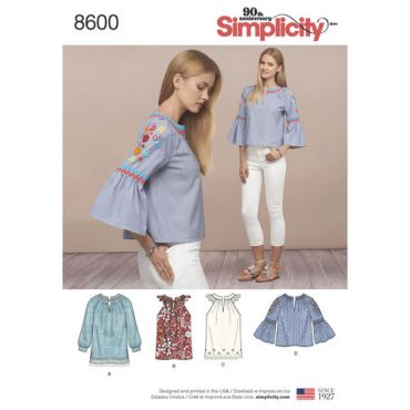 simplicity-boho-top-pattern-8600-envelope-front