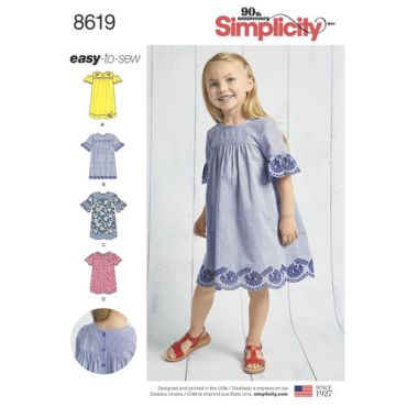 simplicity-child-dress-pattern-8619-envelope-front