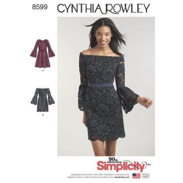 simplicity-cynthia-rowley-dress-pattern-8599-envelope-front