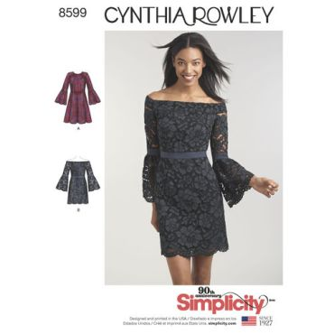 simplicity-cynthia-rowley-dress-pattern-8599-envelope-front
