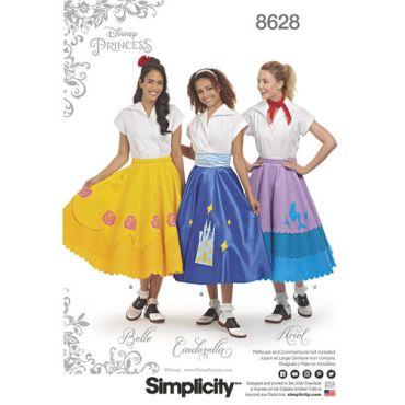 simplicity-disney-skirts-pattern-8628-envelope-front