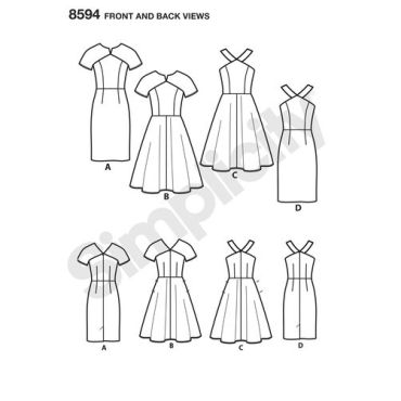 simplicity-dress-pattern-8594-front-back-view