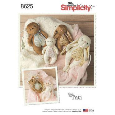 simplicity-jungle-stuffies-pattern-8625-envelope-front