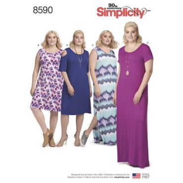 simplicity-knit-dress-pattern-8590-envelope-front