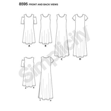 simplicity-knit-dress-pattern-8595-front-back-view