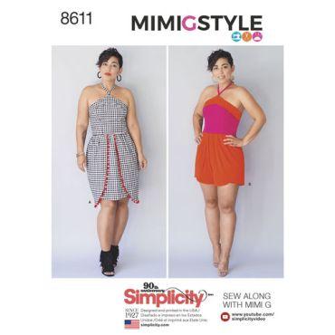 simplicity-mimi-g-dress-romper-halter-pattern-8611-envelope-front