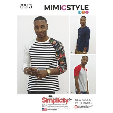 simplicity-mimi-g-mens-baseball-shirt-henley-pattern-8613-envelope-front