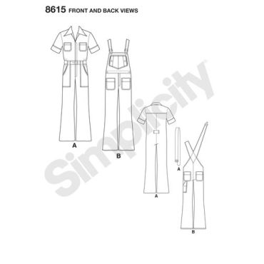 simplicity-mimi-g-mens-vintage-romper-pattern-8615-front-back-view