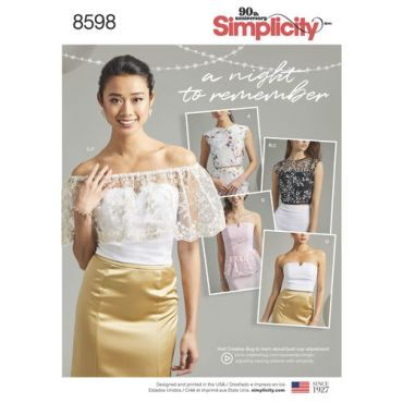 simplicity-prom-crop-top-pattern-8598-envelope-front