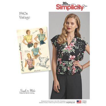 simplicity-vintage-blouse-1940s-miss-pattern-8593-envelope-front