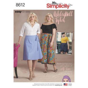 simplicity-wrap-skirt-pattern-8612-envelope-front