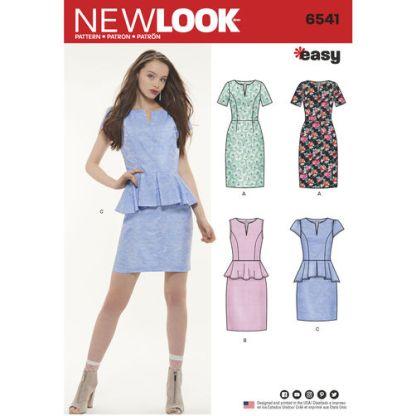 newlook-workwear-dress-pattern-6541-envelope-front