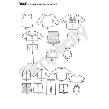simplicity-american-girl-pattern-8666-front-back-views