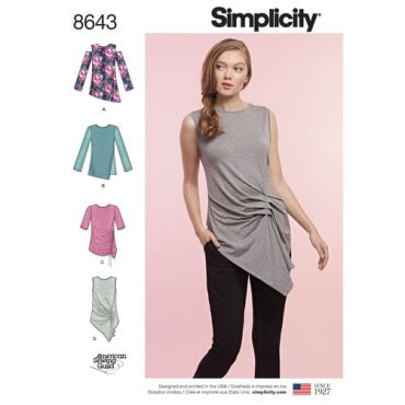 simplicity-asymmetrical-knit-top-pattern-8643-envelope-front