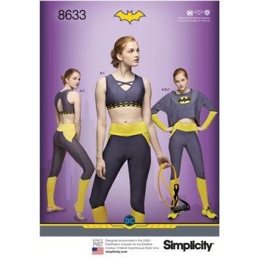 simplicity-batgirl-athleisure-pattern-8633-envelope-front