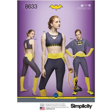 simplicity-batgirl-athleisure-pattern-8633-envelope-front