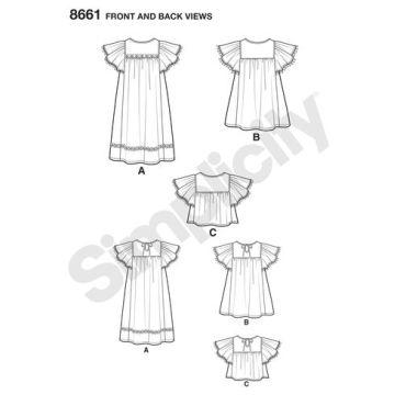simplicity-child-dress-pattern-8661-front-back-views