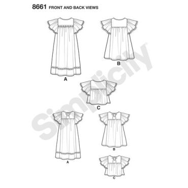 simplicity-child-dress-pattern-8661-front-back-views