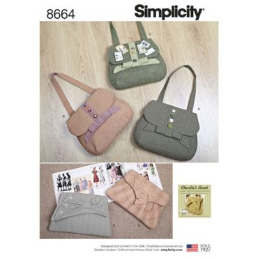 simplicity-clutch-purse-handbag-bag-vintage-charliesaunt-pattern-8664-envelope-front