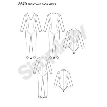 simplicity-cosplay-jumpsuit-pattern-8670-front-back-views
