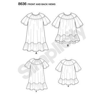 simplicity-cynthia-rowley-pattern-8636-front-back-views