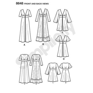 simplicity-duster-dress-pattern-8648-front-back-views