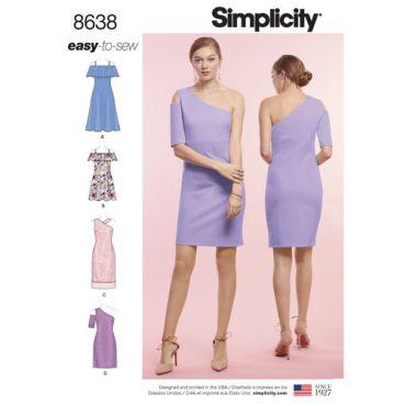 simplicity-exposed-shoulder-dress-pattern-8638-envelope-front
