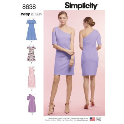 simplicity-exposed-shoulder-dress-pattern-8638-envelope-front