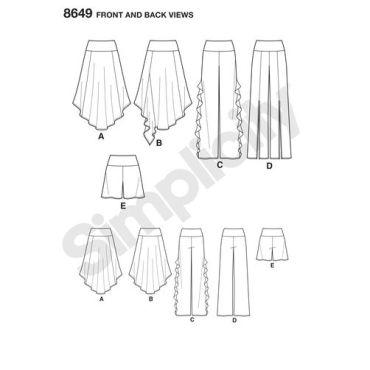 simplicity-knit-bottoms-pattern-8649-front-back-views