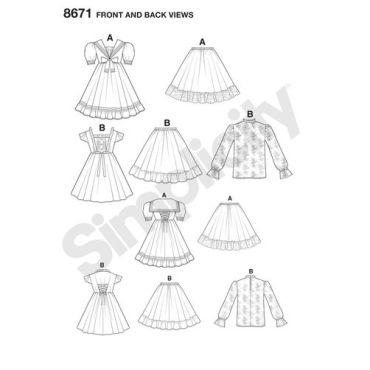 simplicity-lolita-pattern-8671-front-back-views