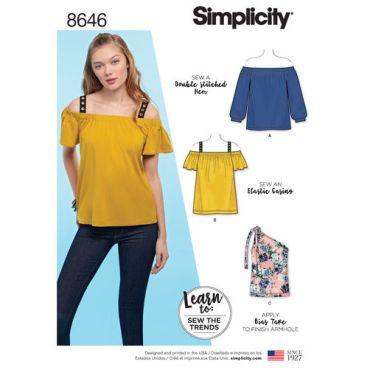 simplicity-off-shoulder-top-pattern-8646-envelope-front