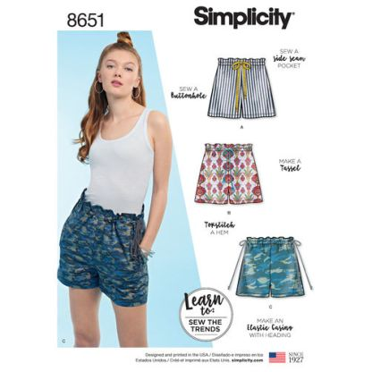 simplicity-paper-bag-shorts-pattern-8651-envelope-front