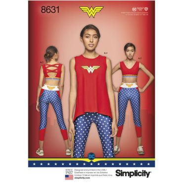 simplicity-wonder-woman-athleisure-pattern-8631-envelope-front