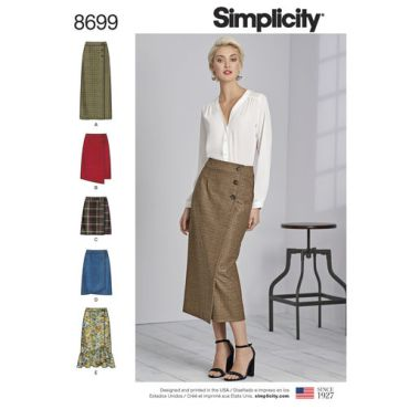 simplicity-buttoned-wrap-skirt-pattern-8699-envelope-front